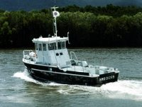 Aluminium Workboat 22 built for Army and Navy