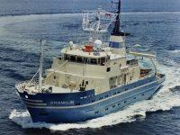 CSIRO ORV Franklin at sea