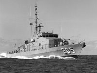 Fremantle Class Patrol Craft on trials