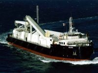 MV Aburri McArthur River Self Discharge Ship 1994