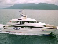 MV Sun Eagle Hayman Island Vessel 1991