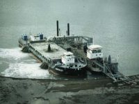 QCL dredge Amity and split hopper barge MV John Oxley