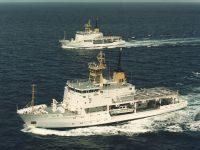 RAN Hydrographic Survey Ships HMAS Melville & HMAS Leeuwin