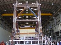 Assembly of Pylon to Slew Deck